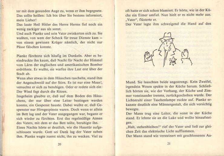 Bild 3: Kinderbuch von Peter Abraham - Pianke - Der Kinderbuchverlag Berlin DDR