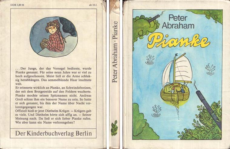 Kinderbuch von Peter Abraham - Pianke - Der Kinderbuchverlag Berlin DDR