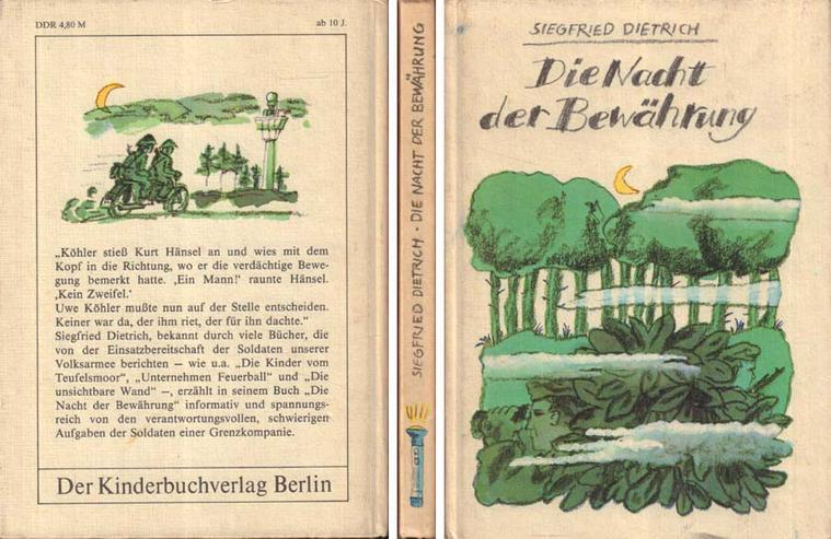 Kinderbuch von Siegfried Dietrich - Die Nacht der Bewährung - Kinderbuchverlag