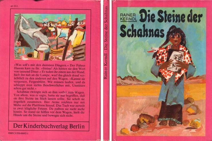 Kinderbuch von Rainer Kerndl - Die Steine der Schahnas - Kinderbuchverlag DDR