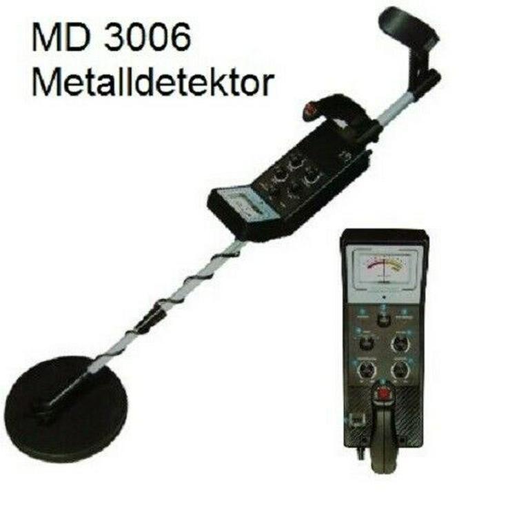 AGT Metalldetektor MD-3006 mit wasserdichter Spule / 12 cm Suchtiefe  - Weitere - Bild 1