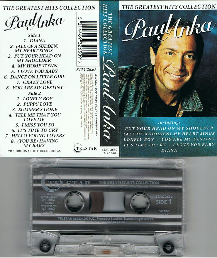 Paul Anka – The Greatest Hits Collection