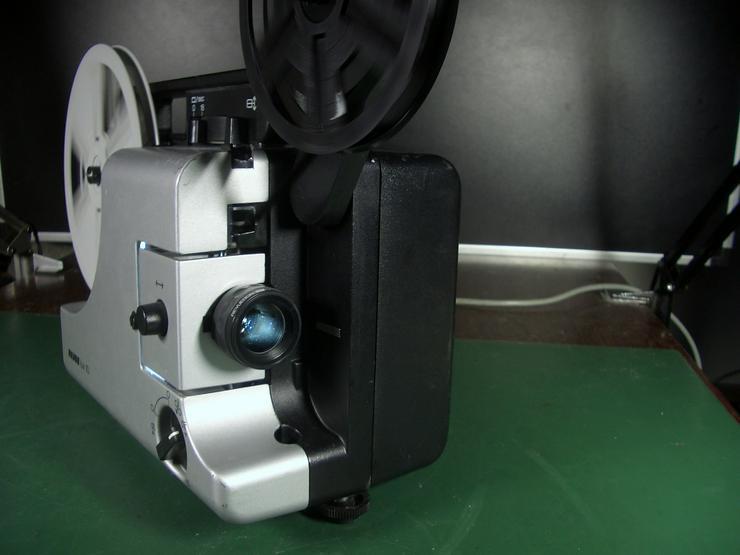 Bild 2: Revuelux 10 Super 8 Filmprojektor mit Standbild