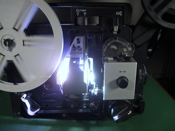 Bild 3: Revuelux 10 Super 8 Filmprojektor mit Standbild