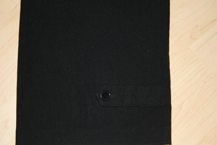 Bild 2: Damen Bengalin Hose Stretchhose Business Stoffhose schwarz 44 L