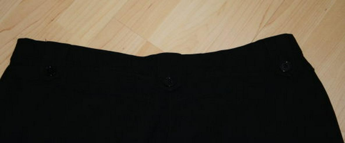 Bild 5: Damen Bengalin Hose Stretchhose Business Stoffhose schwarz 44 L
