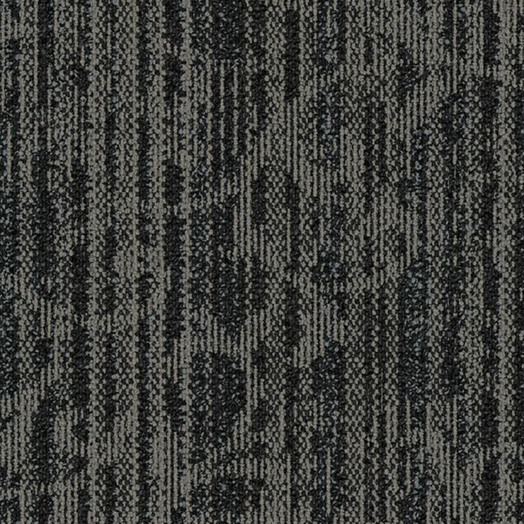 Sehr schöne graue Interface Teppichfliesen mit Motiv