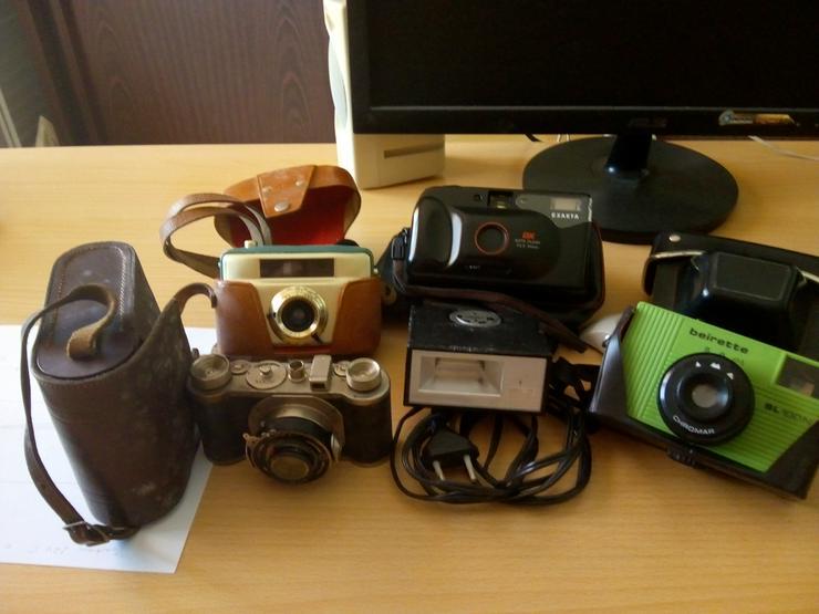 Alte Fotoapparate, u div