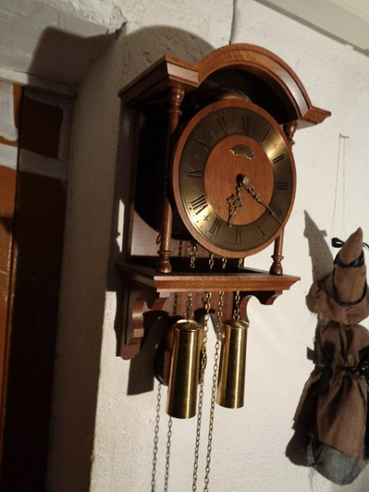 "Schöne Alte Mechanische Pendel Uhr ""WUBA"" Holland"