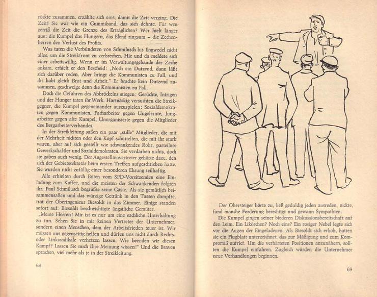 Bild 3: Buch von Jan Koplowitz - Glück auf, Piddl - Roman - 2. Auflage von 1968
