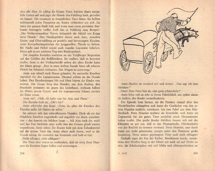 Bild 4: Buch von Jan Koplowitz - Glück auf, Piddl - Roman - 2. Auflage von 1968