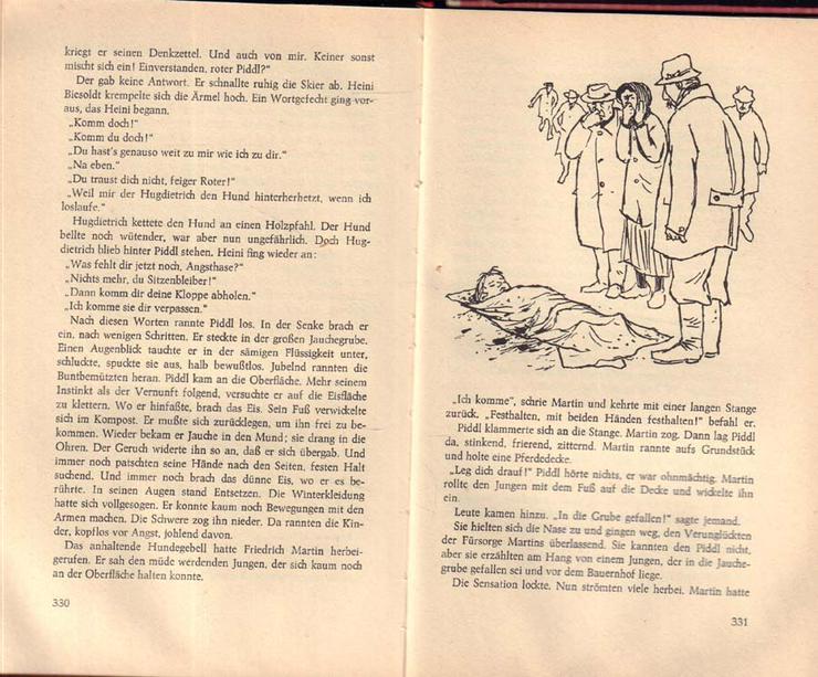 Bild 5: Buch von Jan Koplowitz - Glück auf, Piddl - Roman - 2. Auflage von 1968