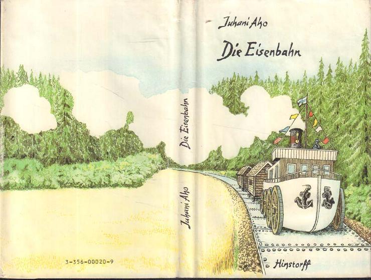 Bild 2: Buch von Juhani Abo - Die Eisenbahn - Hinstorff Verlag 1986 - Rarität