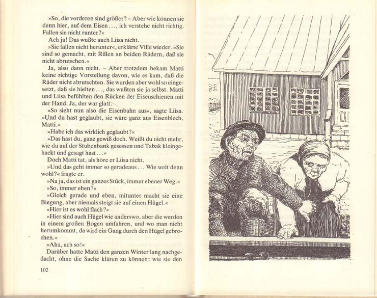 Bild 5: Buch von Juhani Abo - Die Eisenbahn - Hinstorff Verlag 1986 - Rarität