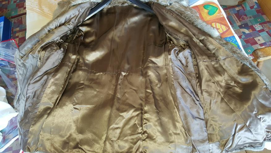 Bild 2: Bisam Echtpelz Jacke Größe 46/48 Echt Pelz
