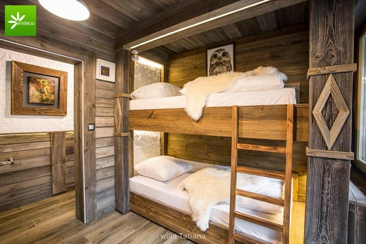 Komfortable Etagenbettenn aus Altholz der Firma Alldeco - Betten - Bild 1