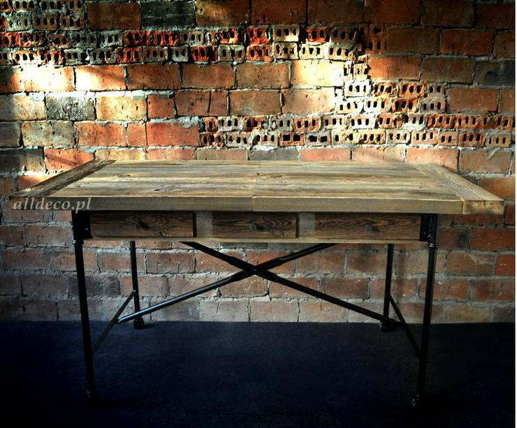Bild 6: Tische aus Althoz, die ideal zum jeden Einrichtungsstil passen - Alldeco