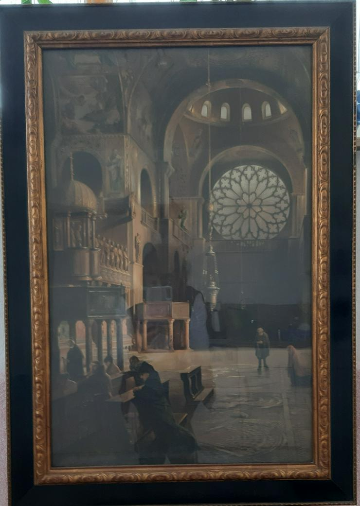 Bild 2: Kathedrale/ Basilika San Marco in Venedig ca. 120 Jahre evtl.Druck