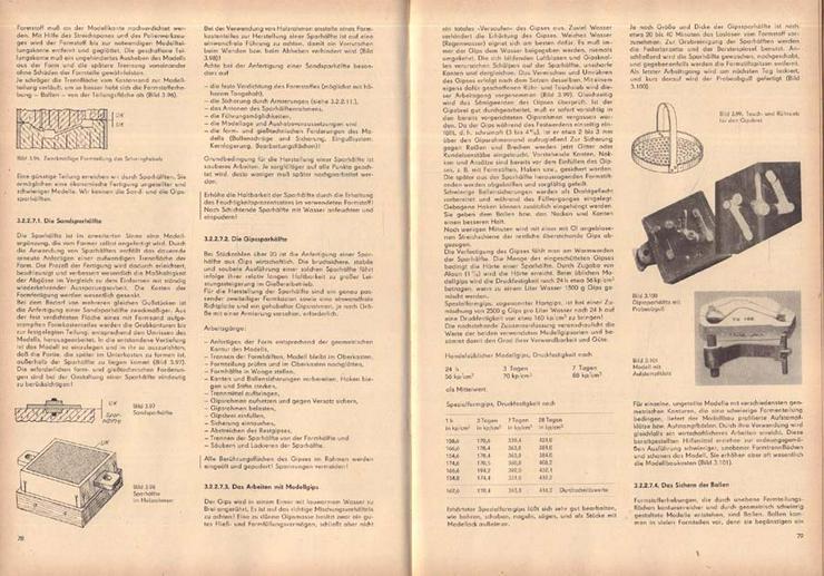 Bild 2: Fachbuch - Fachkunde für Former und Gießer - von einem Autorenkollektiv - 1969