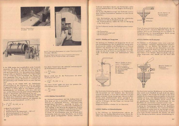 Bild 4: Fachbuch - Fachkunde für Former und Gießer - von einem Autorenkollektiv - 1969