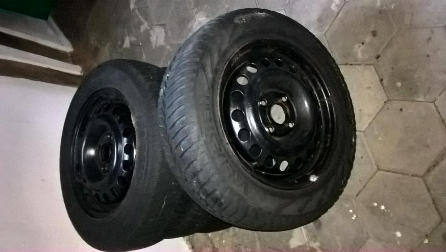 VREDESTEIN Winterreifen auf Stahlfelgen - Nutzfahrzeug Reifen & Felgen - Bild 1