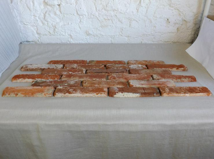 Bild 2: Antikriemchen Steinriemchen Mauerverblender Ziegelriemchen Mauerziegel antik retro Riemchen Verblender Klinker Ziegel Backstein Fliese