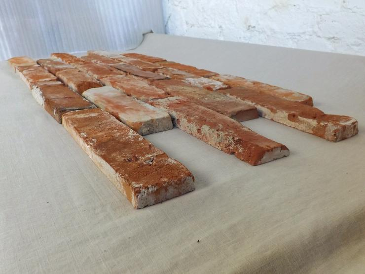 Bild 4: Antikriemchen Steinriemchen Mauerverblender Ziegelriemchen Mauerziegel antik retro Riemchen Verblender Klinker Ziegel Backstein Fliese
