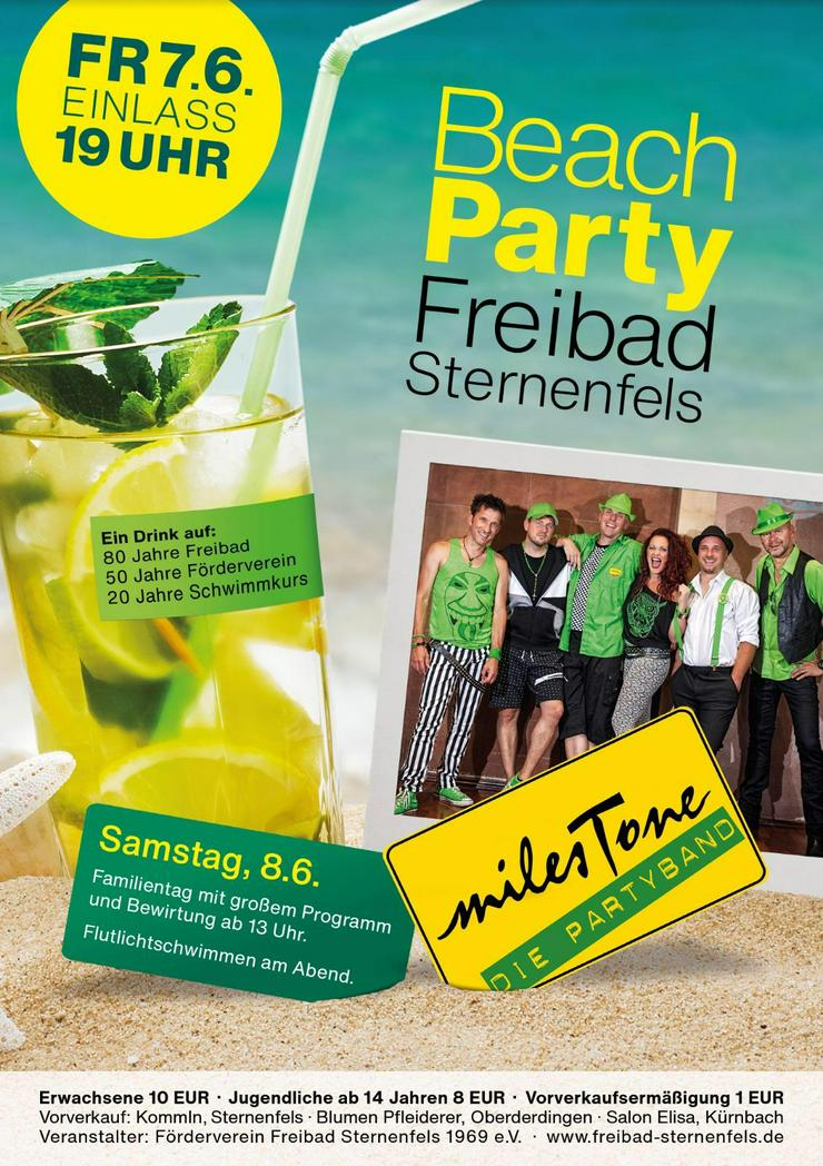 Beachparty Sternenfels