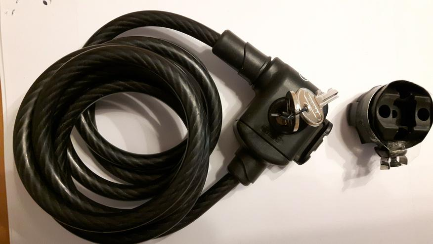 Verkaufe gebrauchtes ABUS-Fahrradschloss - Zubehör & Fahrradteile - Bild 1