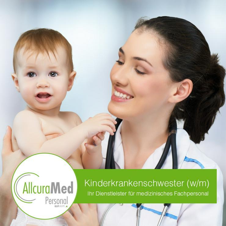 Kinderkrankenschwester/ - pfleger  im Stationsdienst (m/w/d) - Pflegepersonal - Bild 1
