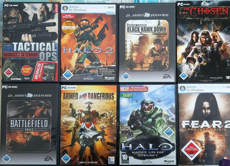 PC - CD Rom Spiele für Window, siehe Fotos