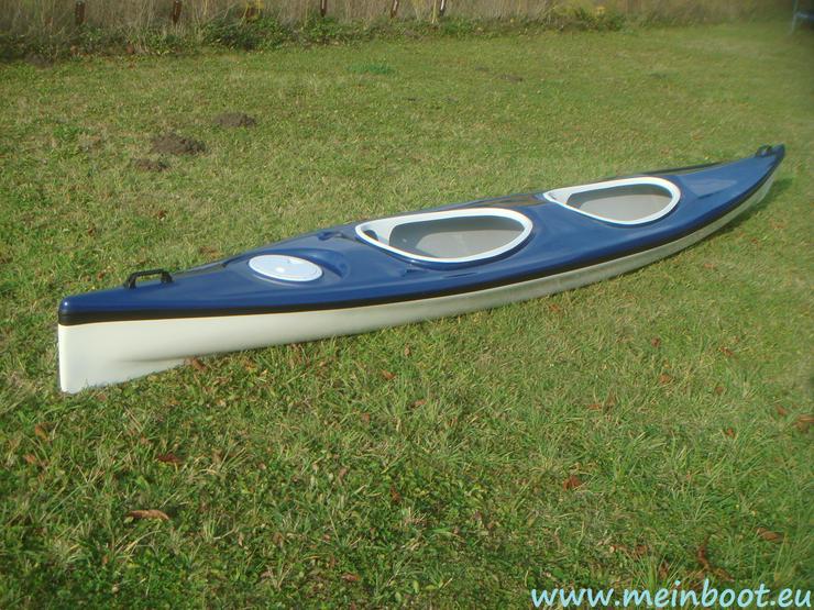 2er Kajak 525 Neu ! in blau /weiß