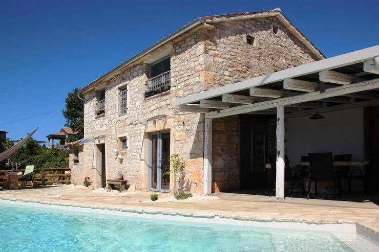 Bild 2: Wunderschönes Ferienhaus mit Traum-Meerblick Porec Istrien Kroatien
