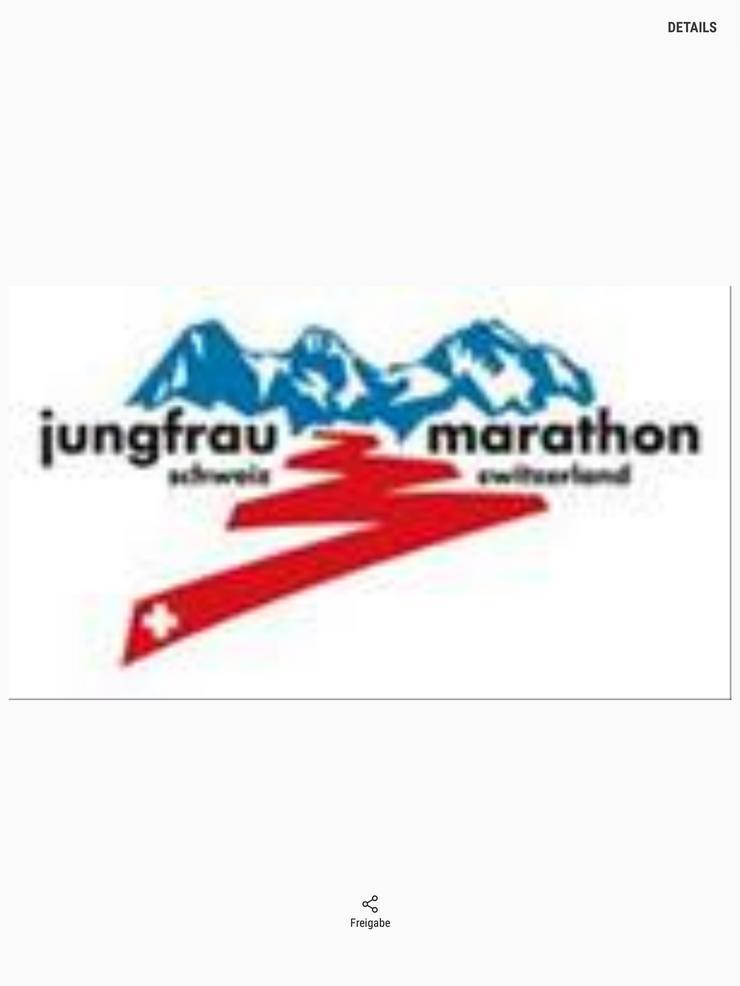 Ticket Startplatz Jungfrau Marathon 07.09.2019