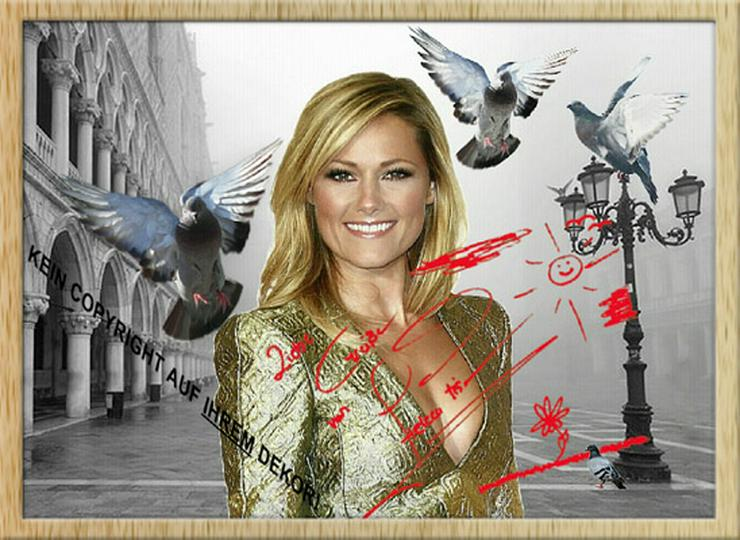 HELENE FISCHER Venedig Deko Selfie Souvenir Lifestyle Geschenk Wandbild