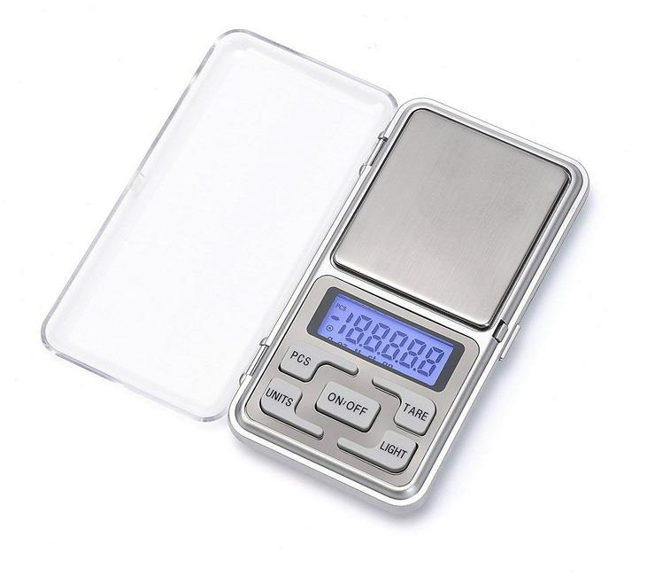 Digitale Taschenwaage Feinwaage - 500 / 001 gr - Waagen - Bild 1