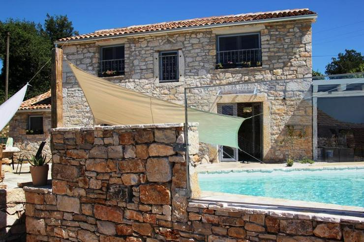 Traumhaftes Ferienhaus mit Wahnsinns-Meerblick bei Porec Istrien Kroatien - Ferienhaus Kroatien - Bild 1