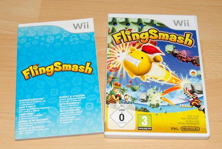 Nintendo Wii FlingSmash (Spiel für 1 bis 2 Spieler)