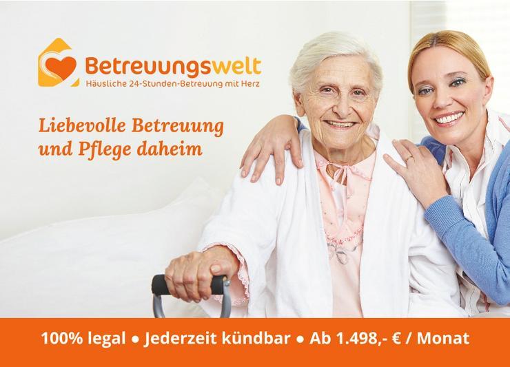 24h Betreuung Pflege Haushaltshilfe