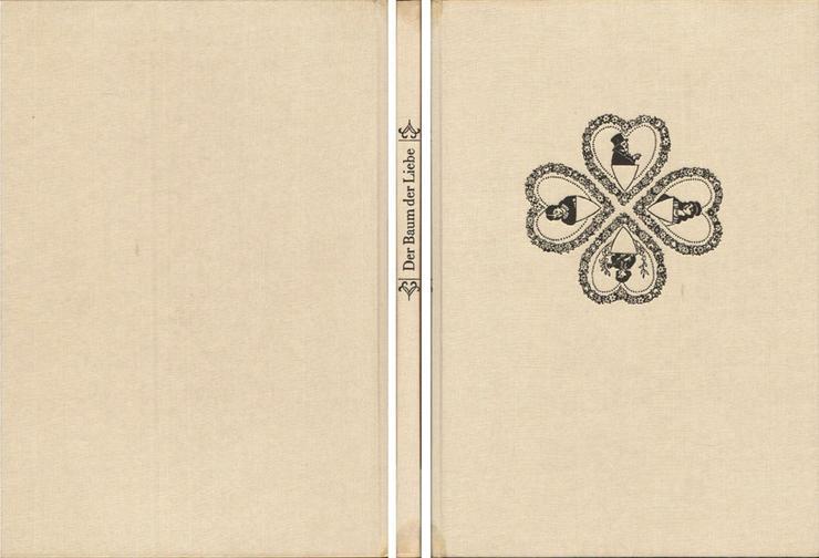 Bild 2: Der Baum der Liebe - Liebesseufzer auf Neuruppiner Bilderbogen - Riedel & Hirte
