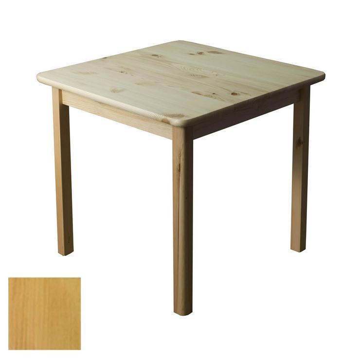 Tisch Holztisch Kiefernholz 60x60 Küchentisch Beistelltisch Erle