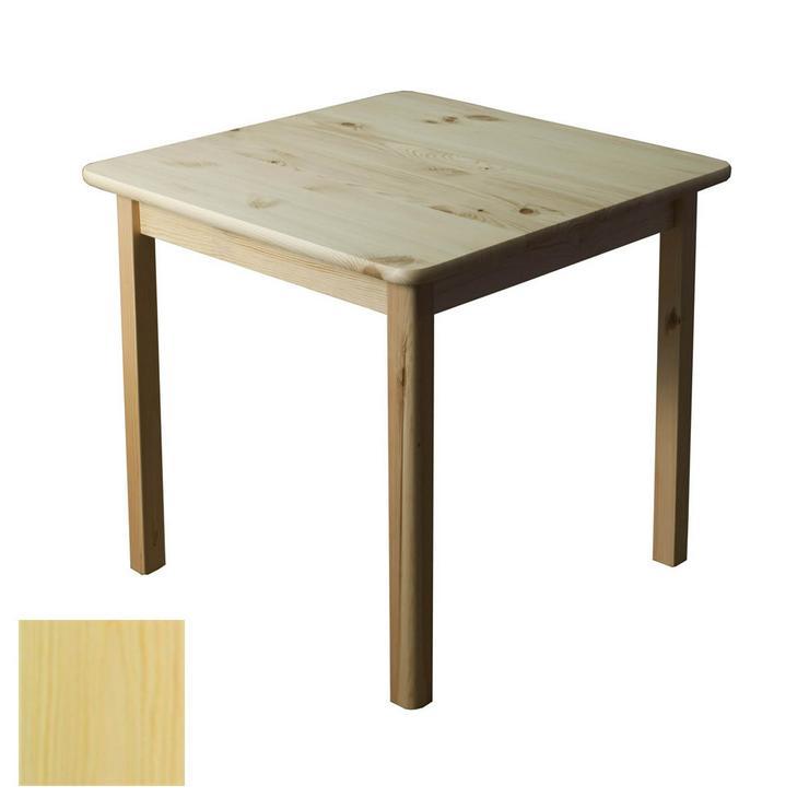 Tisch Holztisch Kiefernholz 60x60 Beistelltisch Kiefer
