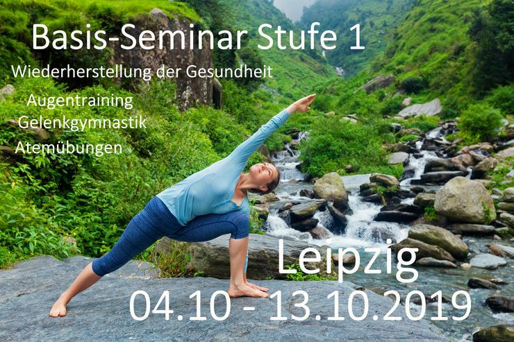 Seminar Stufe 1 nach Norbekov Methode in Leipzig