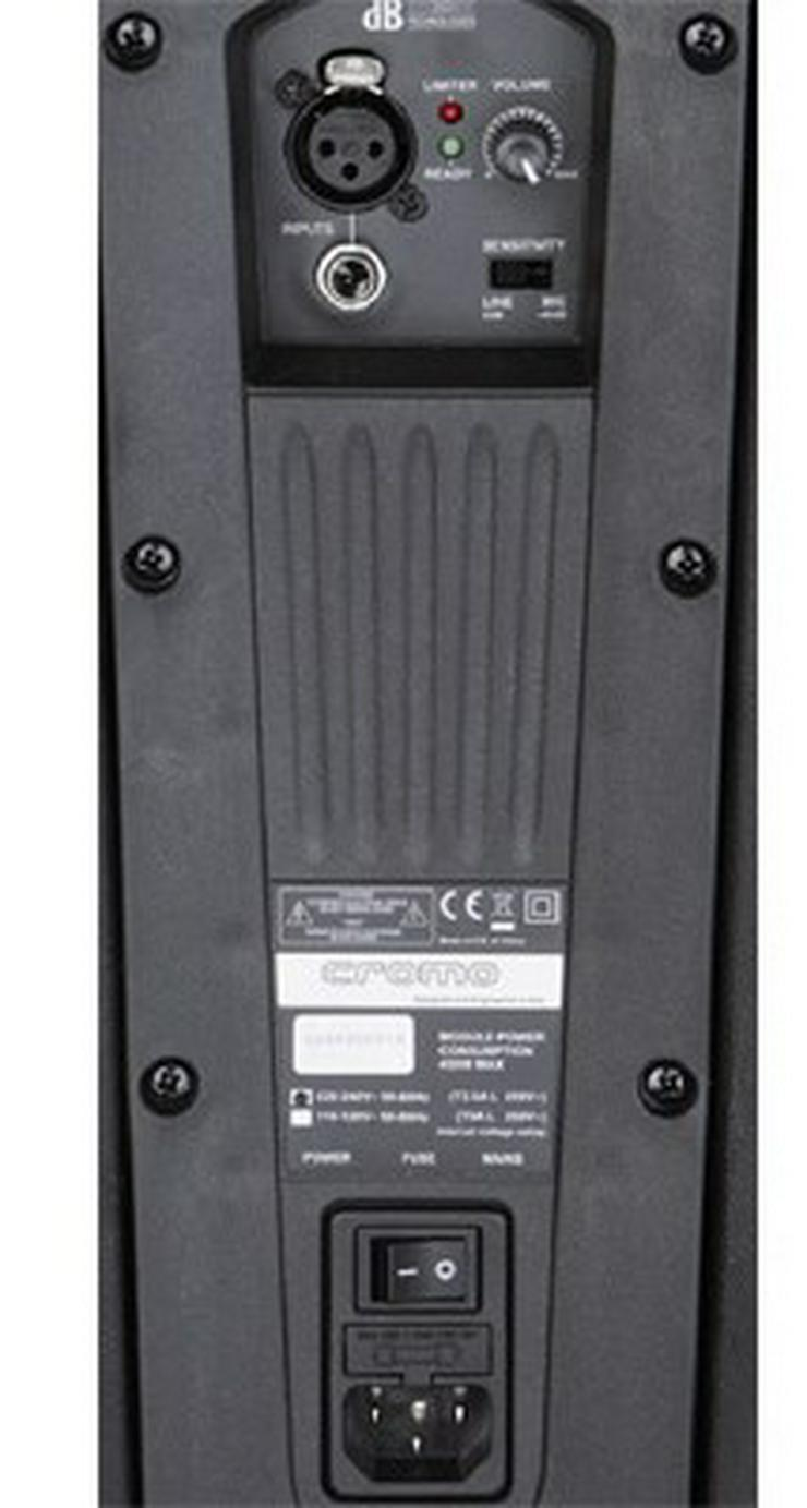Bild 4: Verleih 2 x dB Cromo 15+ Aktivbox digital 600W I Lautsprecher
