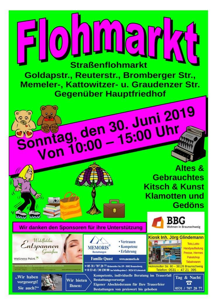Straßenflohmarkt in Braunschweig - Märkte & Messen - Bild 1