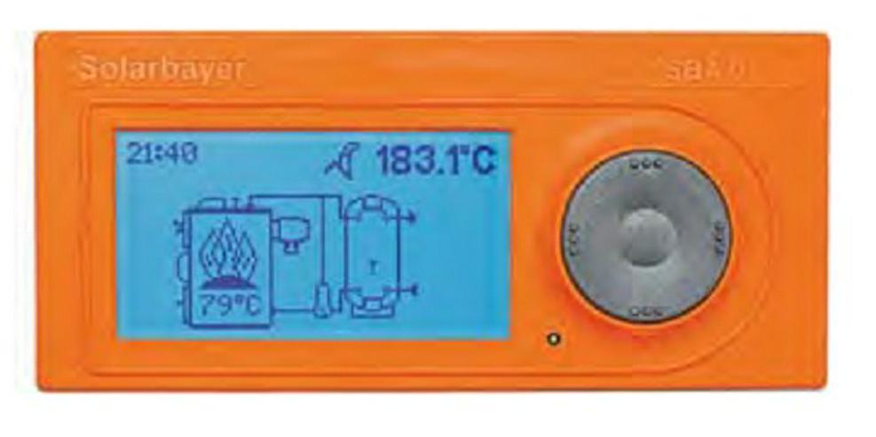Bild 2: Holzvergaser HVS 40 E Solarbayer + 3 St. 1000 SLS Pufferspeicher