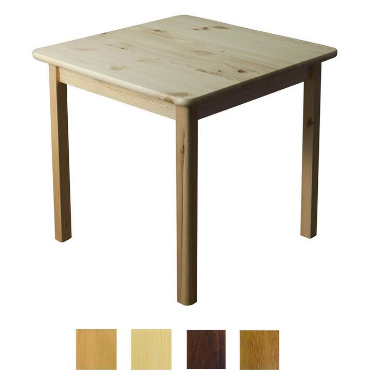 Tisch Holztisch Kiefernholz 60x60 Küchentisch Beistelltisch Couch Verschiedene Farben zur Auswahl