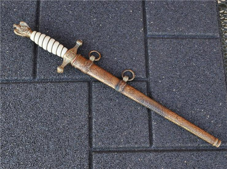 Original Dolch Krogsmarine aus Wk2, Alcoso Solingen