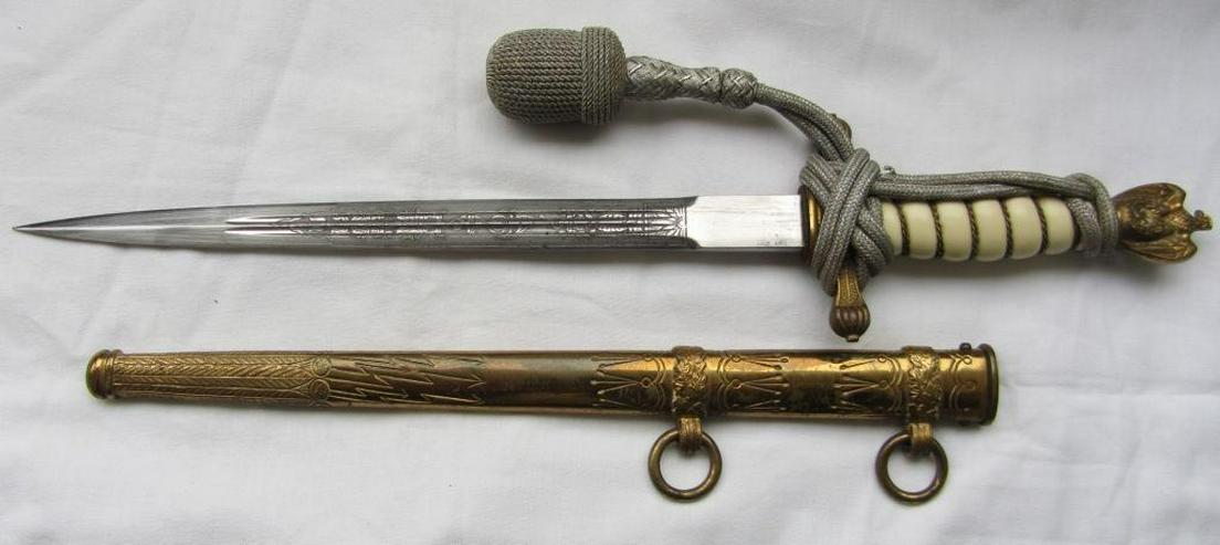 Original Dolch Kriegsmarine aus Wk2, Original Eickhorn Solingen