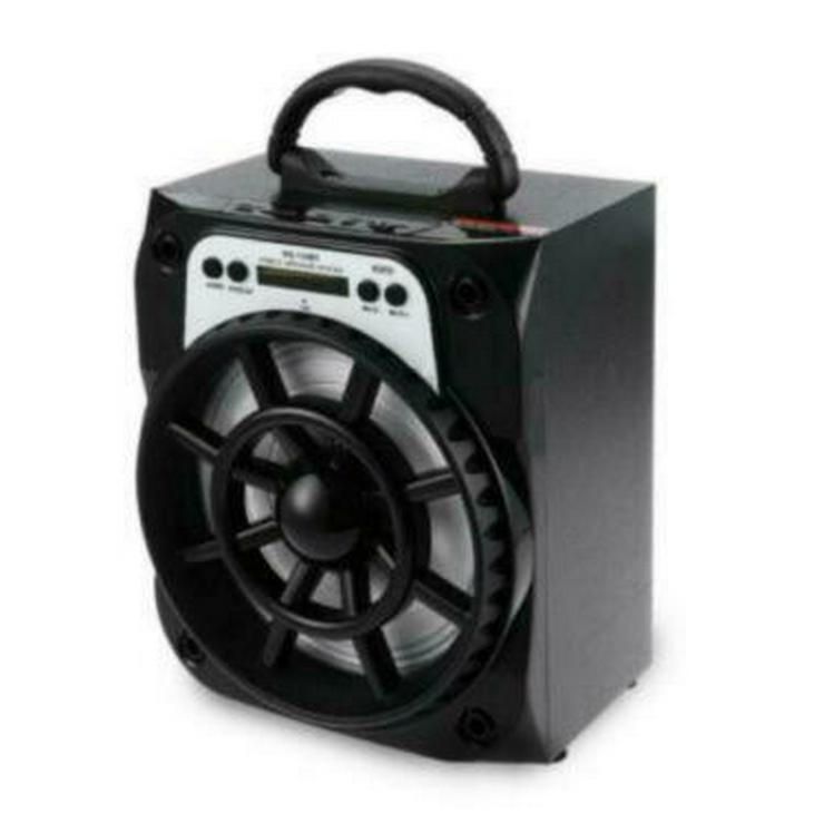 Mobil Bluetooth Lautsprecher USB SD AUX MP3 Player Radio Box NEU